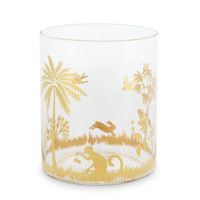 La Majorelle Gold Water Glass - French Quarter
