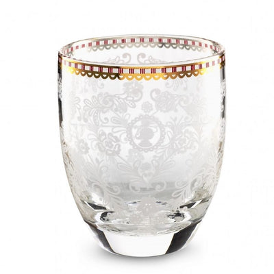 Royal Flower Water Glass - French Quarter