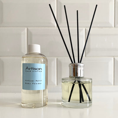 Baby Powder Artisan Diffuser Refill - French Quarter