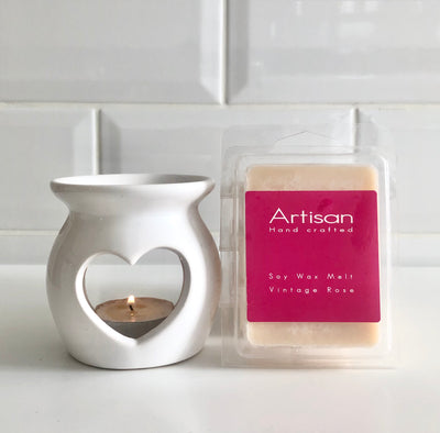 Vintage Rose Artisan Soy Wax Melts - French Quarter