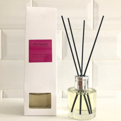 Black Cherry Artisan Reed Diffuser - French Quarter