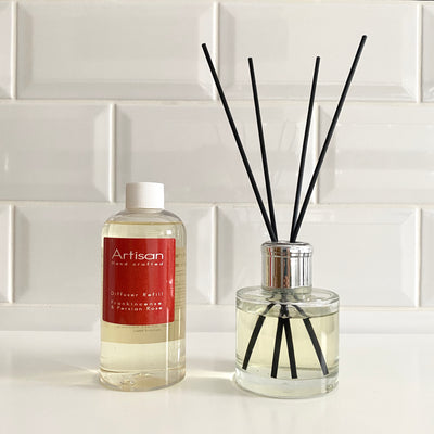 Frankincense & Persian Rose Artisan Diffuser Refill - French Quarter