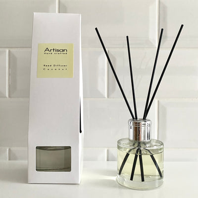 Coconut Artisan Reed Diffuser - French Quarter