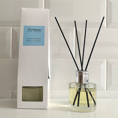 Baby Powder Artisan Reed Diffuser - French Quarter