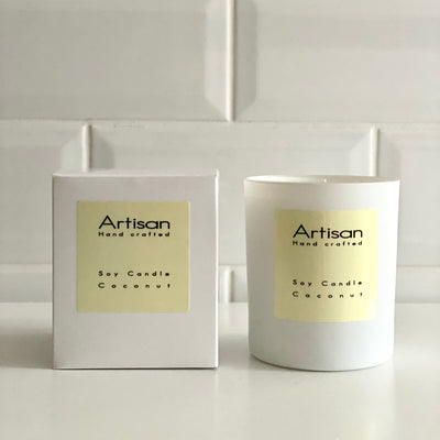 Coconut Artisan Soy Wax Candle - French Quarter