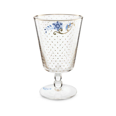 Royal Golden Dots Wine Glass - French Quarter