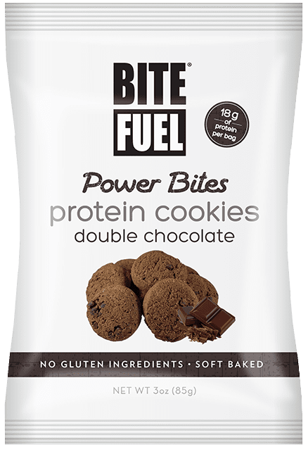 Double Chocolate Protein Cookies - 8 Pack