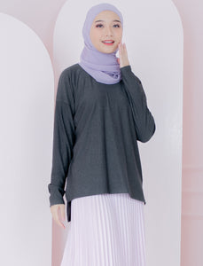Lilibeth Top in Greysilver