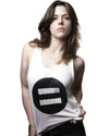 Ditch the Label Symbol Vest Top - Female Model