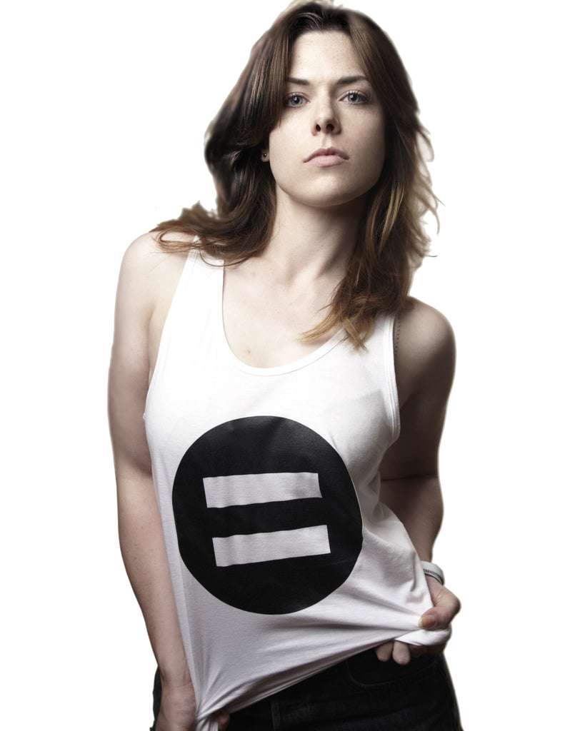 Symbol Vest Top - Female Model