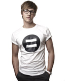 Symbol Crew Neck White - Male Model