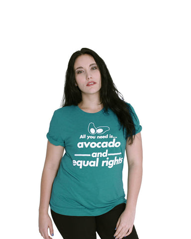 Avocado and Equal Rights - Female Model