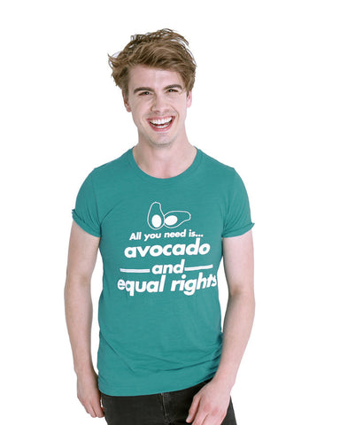Avocado and Equal Rights - Male Model