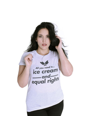 Ice Cream and Equal Rights - Female Model