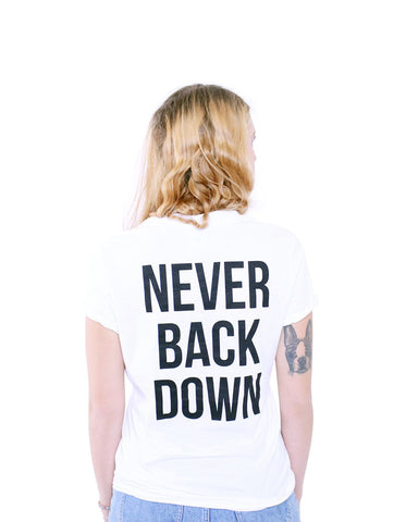 Never Back Down - Female Model