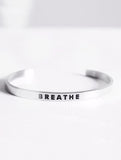 Breathe Karma Band - Silver