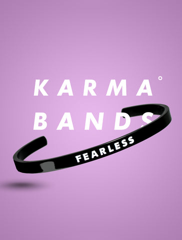 Fearless Karma Band - Graphite Black - Limited Edition