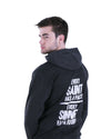 Every Saint Has a Past, Every Sinner Has a Future Hoodie - Male Model