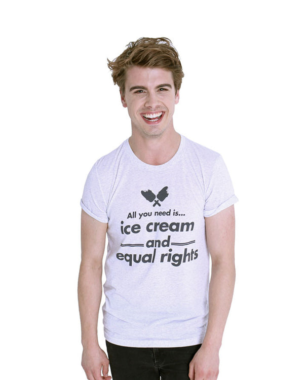 Ice Cream and Equal Rights - Male Model