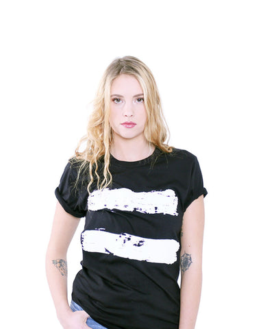 Paint Splash Tee - Female Model