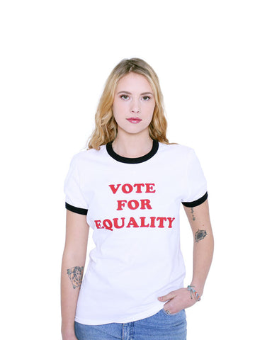 Vote for Equality - Female Model