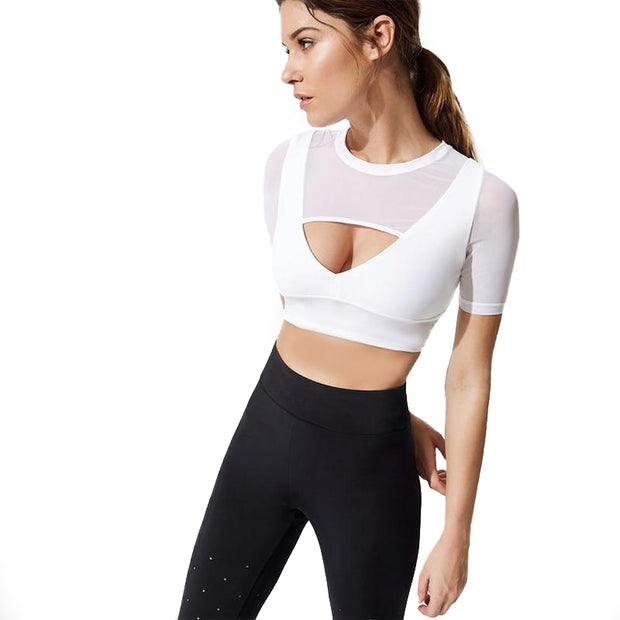 Short Sleeve Yoga Top