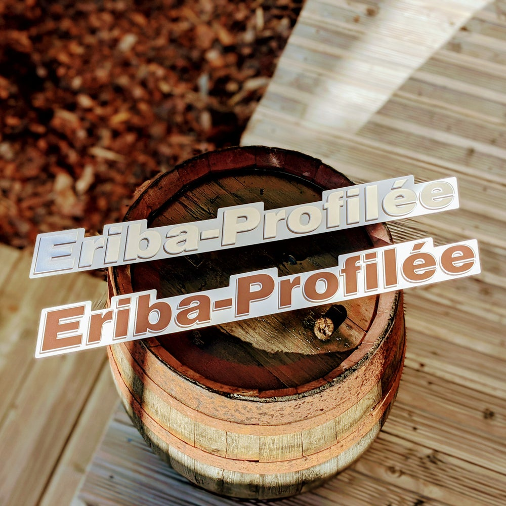 Eriba Profilée Replacement Badge Aluminium