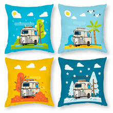 Load image into Gallery viewer, Eriba 4 Seasons Pillow Case (Cotton Polyester) [Set of 4]