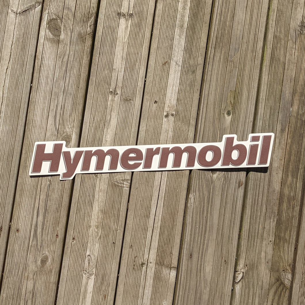 Hymermobil Oldtimer Replacement Schild Sign Badge Aluminium