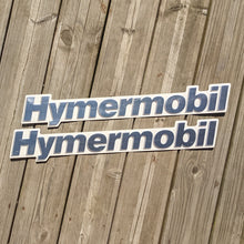 Load image into Gallery viewer, Hymermobil Oldtimer Replacement Schild Sign Badge Aluminium