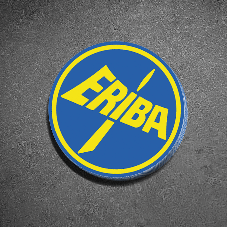 Eriba Hymermobil Replacement Roof Logo Vinyl Sticker 15cm (6 Inch)