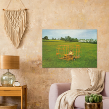 Load image into Gallery viewer, Eriba Frame Orange Promotional Poster