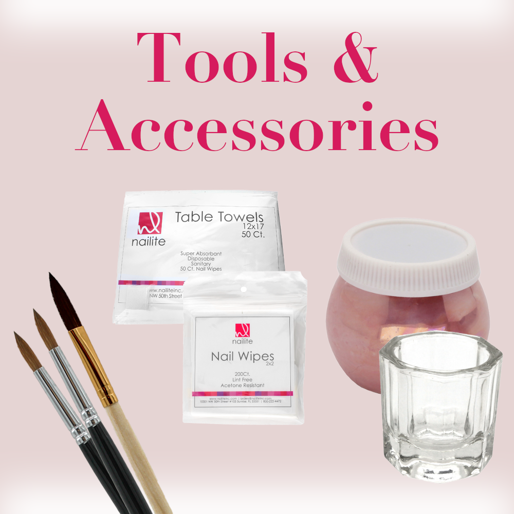 ACRYLIC SYSTEM TOOLS & ACCESSORIES