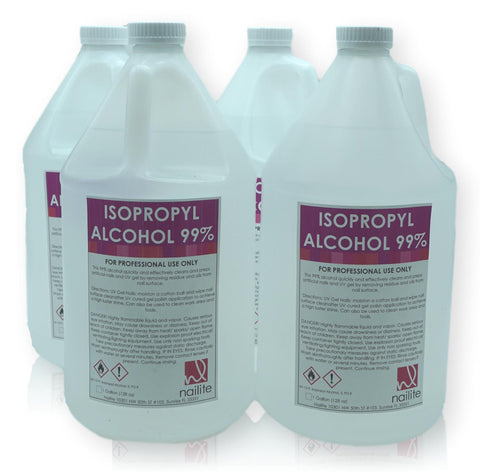 Alcohol 99 % - Case of 4 Gallons