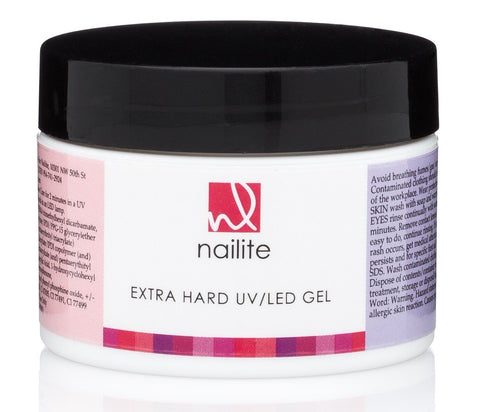 Extra Hard UV/LED Gel Natural 1.3 oz