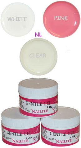 Gentle Gel (Soak Off Gel) White 1 oz