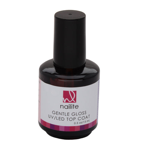 Gentle Gloss Soak Off UV/LED Top Coat 1/2 Oz