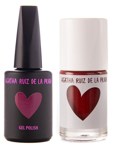 Agatha Ruiz Gel-Polish: : Plum - GELPLM-478 DUO