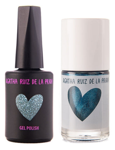 Agatha Ruiz Gel-Polish: Deep Green Acqua - GELGDG-751 DUO
