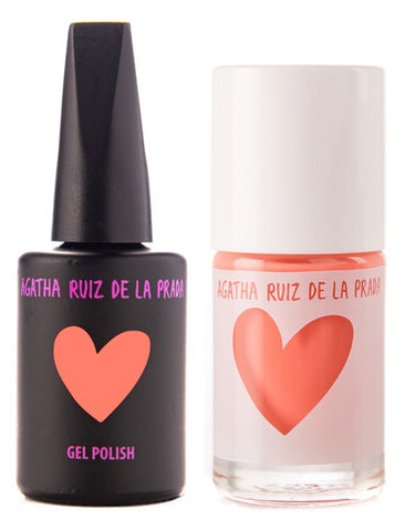 Agatha Ruiz Gel-Polish: Pastel Peach - GELPPC-365 DUO
