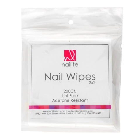 Nailite Lint Free Nail Wipes 200 count