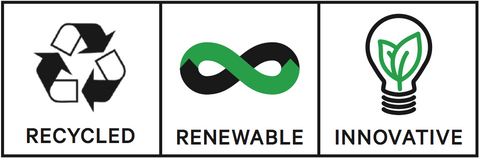 Recycled - Renewable  - Innovative