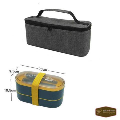 Dimensions lunch box bento et sac isotherme