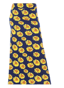 Yellow Daisy Maxi Skirt