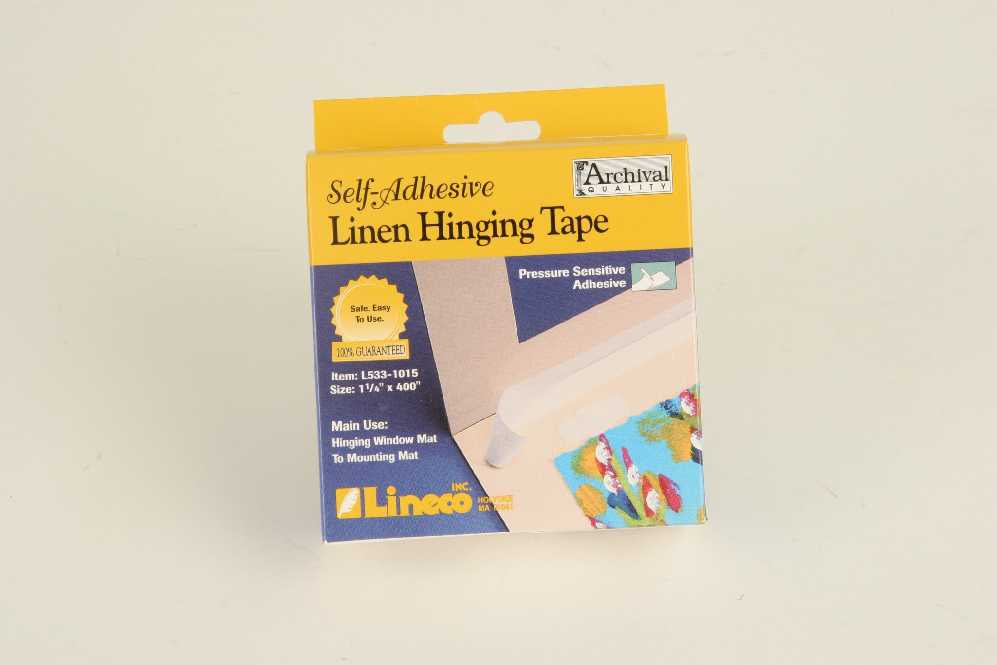 Lineco Linen Hinging Cloth Tape