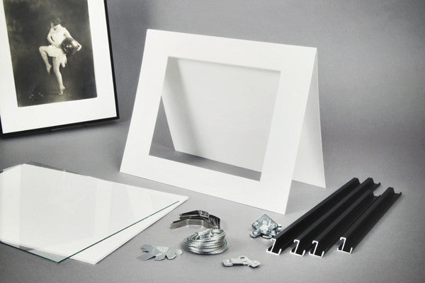 Exhibition Frame Kit Rag Board 14x17 Lumiere Photo