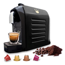 Load image into Gallery viewer, Swiss Presso Föhn Espresso Coffee Machine Black - Nespresso Compatible