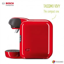 Load image into Gallery viewer, Bosch Tassimo Vivy II T12 TAS1253GB Multi Hot & Cold Drinks Pod Machine Red