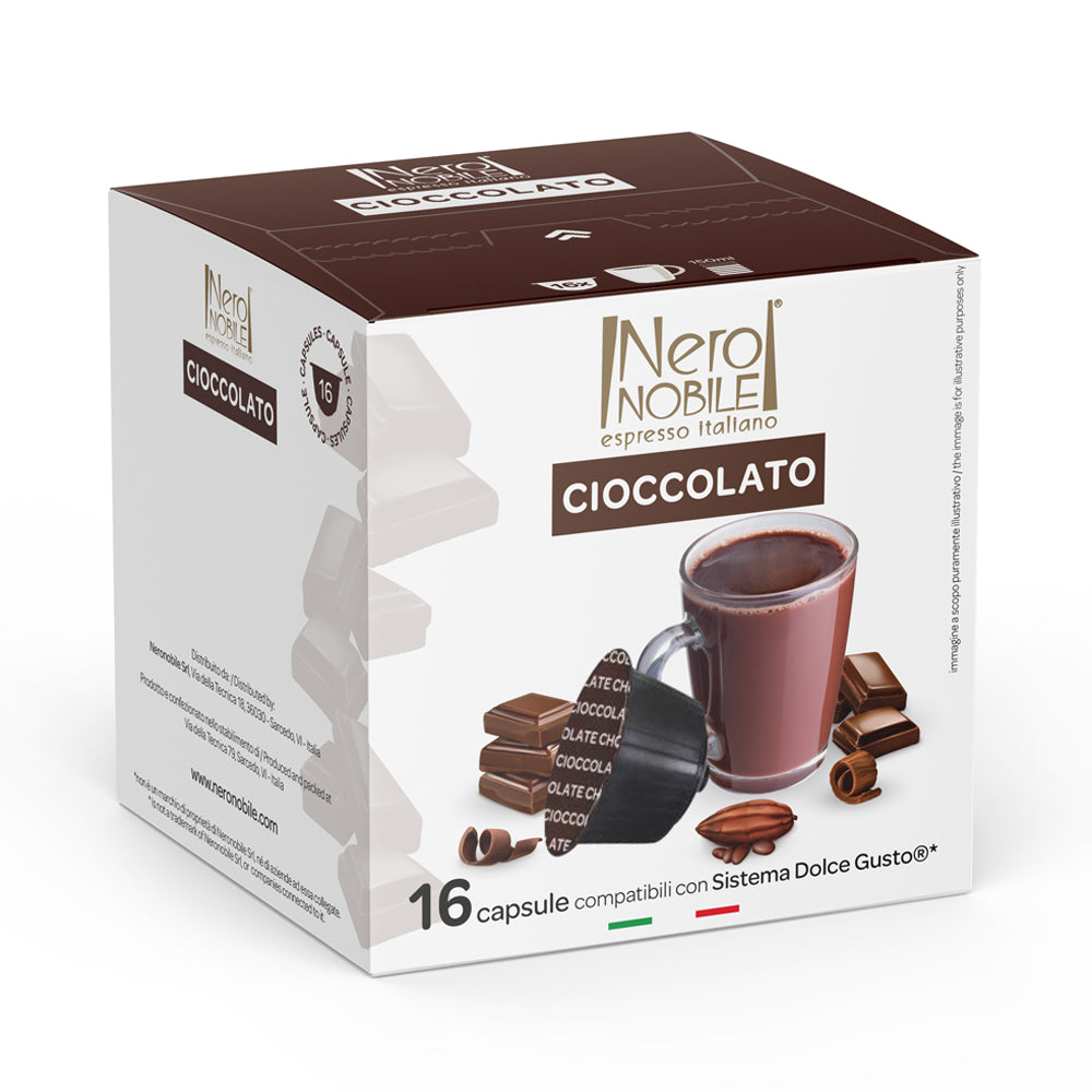 Hot Chocolate Dolce Gusto Compatible Pods
