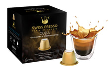 Load image into Gallery viewer, Swiss Presso Föhn Espresso Coffee Machine Black With 120 Coffee Capsules